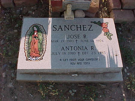 SANCHEZ, JOSE  R. - Gila County, Arizona | JOSE  R. SANCHEZ - Arizona Gravestone Photos