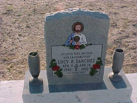 SANCHEZ, LUCY R. - Gila County, Arizona | LUCY R. SANCHEZ - Arizona Gravestone Photos