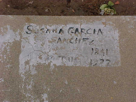 GARCIA SANCHEZ, SUSANA  G. - Gila County, Arizona | SUSANA  G. GARCIA SANCHEZ - Arizona Gravestone Photos