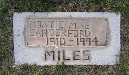 SANDERFORD, MONTIE - Gila County, Arizona   MONTIE SANDERFORD - Arizona Gravestone Photos