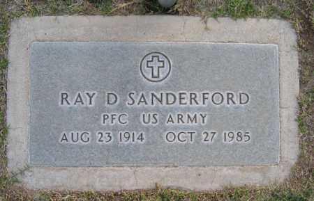 SANDERFORD, RAY - Gila County, Arizona | RAY SANDERFORD - Arizona Gravestone Photos