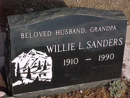 SANDERS, WILLIE L. - Gila County, Arizona   WILLIE L. SANDERS - Arizona Gravestone Photos