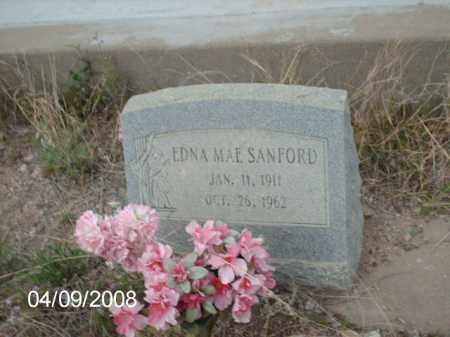 SANFORD, EDNA MAE - Gila County, Arizona   EDNA MAE SANFORD - Arizona Gravestone Photos
