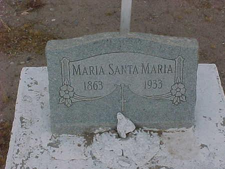 SANTA MARIA, MARIA - Gila County, Arizona | MARIA SANTA MARIA - Arizona Gravestone Photos
