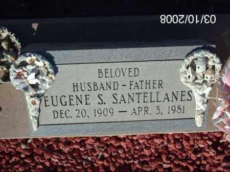 SANTELLANES, EUGENE - Gila County, Arizona   EUGENE SANTELLANES - Arizona Gravestone Photos