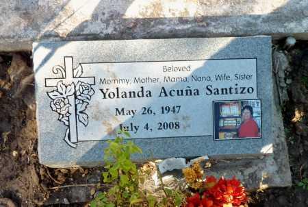 SANTIZO, YOLANDO - Gila County, Arizona | YOLANDO SANTIZO - Arizona Gravestone Photos