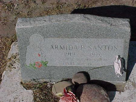 SANTOS, ARMIDA  P. - Gila County, Arizona | ARMIDA  P. SANTOS - Arizona Gravestone Photos