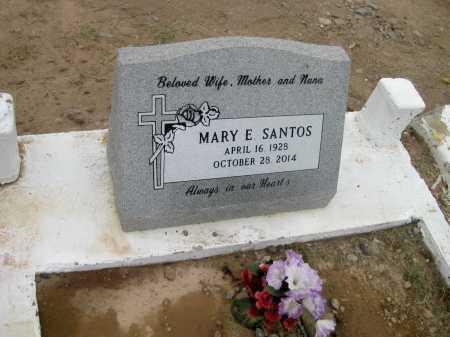 SANTOS, MARIA ENGRASIA - Gila County, Arizona | MARIA ENGRASIA SANTOS - Arizona Gravestone Photos