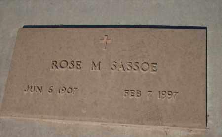 SASSOE, ROSE M. - Gila County, Arizona | ROSE M. SASSOE - Arizona Gravestone Photos