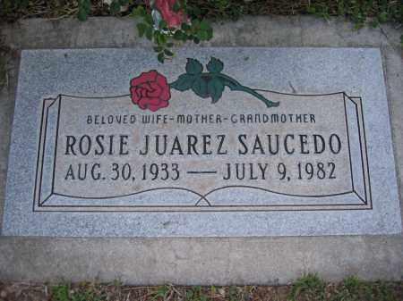 SAUCEDO, ROSIE - Gila County, Arizona   ROSIE SAUCEDO - Arizona Gravestone Photos