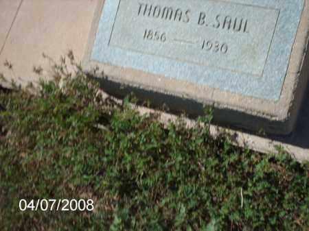 SAUL, THOMAS B. - Gila County, Arizona | THOMAS B. SAUL - Arizona Gravestone Photos