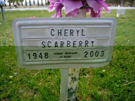 SCARBERRY, CHERYL - Gila County, Arizona | CHERYL SCARBERRY - Arizona Gravestone Photos