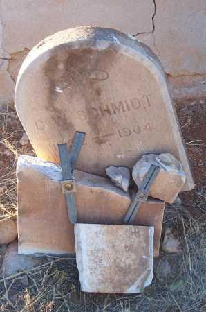 SCHMIDT, C.W. - Gila County, Arizona | C.W. SCHMIDT - Arizona Gravestone Photos