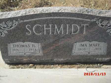 SCHMIDT, THOMAS H. - Gila County, Arizona | THOMAS H. SCHMIDT - Arizona Gravestone Photos