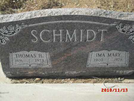 SCHMIDT, IMA MARY - Gila County, Arizona | IMA MARY SCHMIDT - Arizona Gravestone Photos