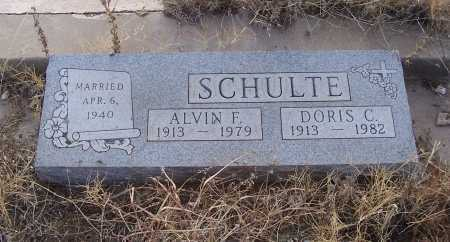 SCHULTE, DORIS C. - Gila County, Arizona | DORIS C. SCHULTE - Arizona Gravestone Photos