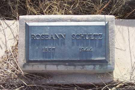 SCHULTZ, ROSEANN - Gila County, Arizona | ROSEANN SCHULTZ - Arizona Gravestone Photos