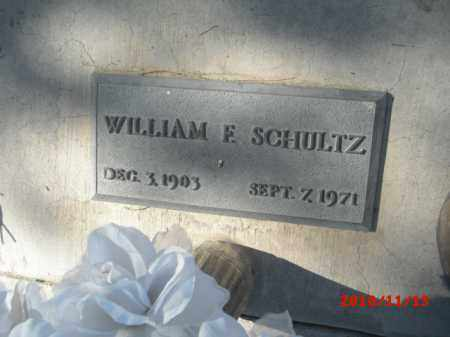 SCHULTZ, WILLIAM F. - Gila County, Arizona | WILLIAM F. SCHULTZ - Arizona Gravestone Photos