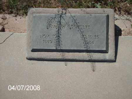 SCHULZE, EVA H. - Gila County, Arizona | EVA H. SCHULZE - Arizona Gravestone Photos