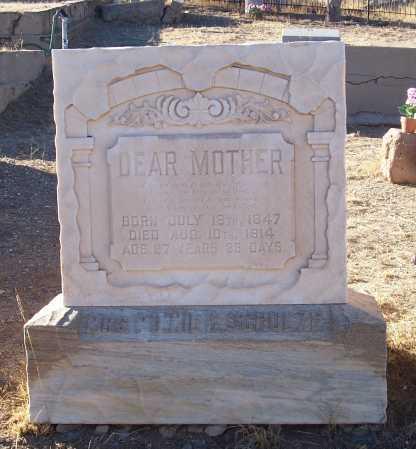 SCHULZE, MINNIE C. - Gila County, Arizona | MINNIE C. SCHULZE - Arizona Gravestone Photos