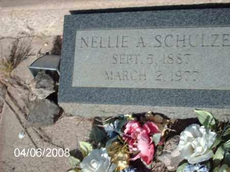 SCHULZE, NELLIE A. - Gila County, Arizona   NELLIE A. SCHULZE - Arizona Gravestone Photos
