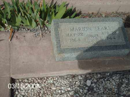 SEARS, MARION - Gila County, Arizona | MARION SEARS - Arizona Gravestone Photos