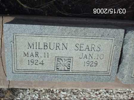 SEARS, MILBURN - Gila County, Arizona | MILBURN SEARS - Arizona Gravestone Photos