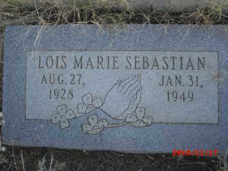 SEBASTIAN, LOIS MARIE - Gila County, Arizona | LOIS MARIE SEBASTIAN - Arizona Gravestone Photos