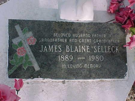 SELLECK, JAMES BLAINE - Gila County, Arizona | JAMES BLAINE SELLECK - Arizona Gravestone Photos