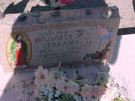 SERRANO, JUANITA B. - Gila County, Arizona | JUANITA B. SERRANO - Arizona Gravestone Photos