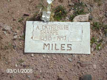 SHARPE, CATHERINE - Gila County, Arizona   CATHERINE SHARPE - Arizona Gravestone Photos