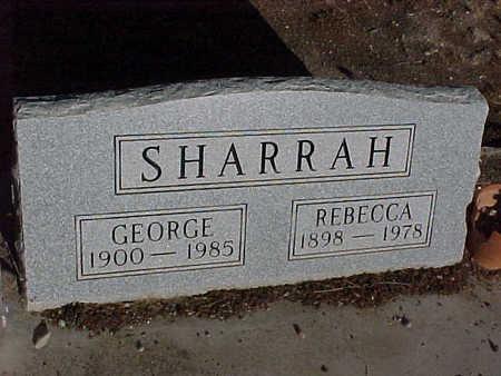 SHARRAH, REBECCA - Gila County, Arizona | REBECCA SHARRAH - Arizona Gravestone Photos