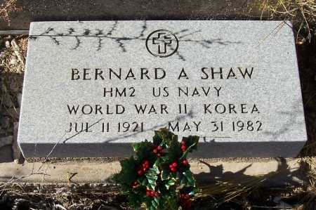 SHAW, BERNARD A. - Gila County, Arizona | BERNARD A. SHAW - Arizona Gravestone Photos