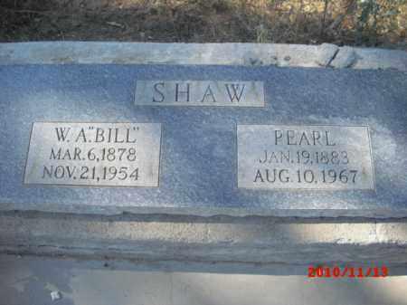 SHAW, PEARL - Gila County, Arizona | PEARL SHAW - Arizona Gravestone Photos
