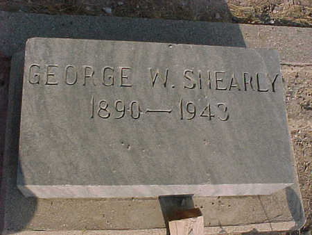 SHEARLY, GEORGE  W. - Gila County, Arizona | GEORGE  W. SHEARLY - Arizona Gravestone Photos