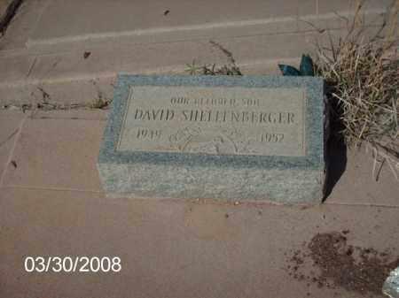 SHELLINBERGER, DAVID - Gila County, Arizona | DAVID SHELLINBERGER - Arizona Gravestone Photos