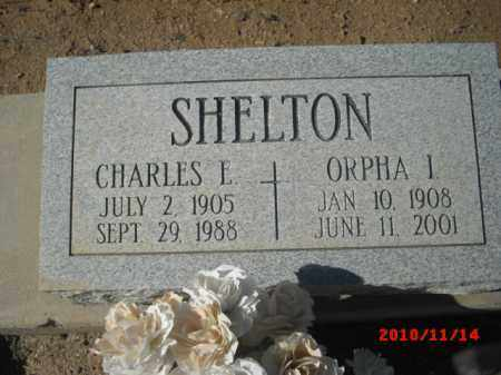 SHELTON, CHARLES E. - Gila County, Arizona | CHARLES E. SHELTON - Arizona Gravestone Photos