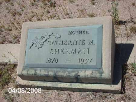 SHERMAN, CATHERINE M. - Gila County, Arizona   CATHERINE M. SHERMAN - Arizona Gravestone Photos