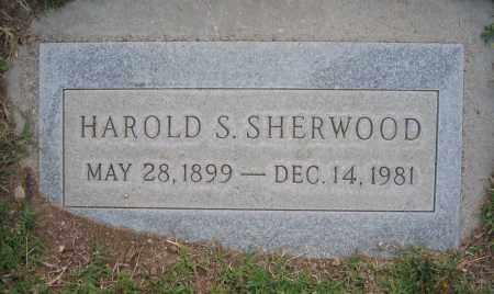 SHERWOOD, HAROLD - Gila County, Arizona   HAROLD SHERWOOD - Arizona Gravestone Photos