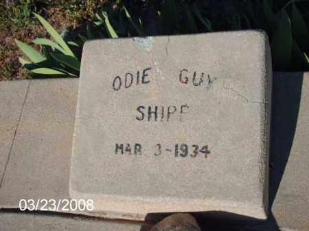 SHIPP, ODIE GUY - Gila County, Arizona | ODIE GUY SHIPP - Arizona Gravestone Photos