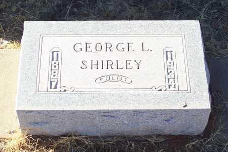 SHIRLEY, GEORGE L. - Gila County, Arizona | GEORGE L. SHIRLEY - Arizona Gravestone Photos