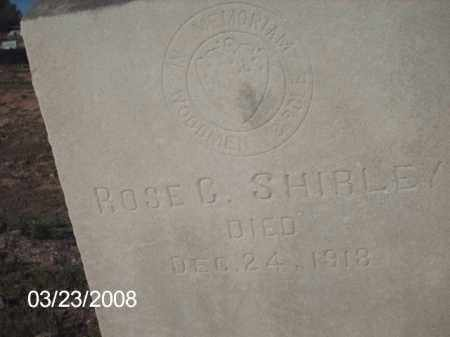 SHIRLEY, ROSE G. - Gila County, Arizona | ROSE G. SHIRLEY - Arizona Gravestone Photos