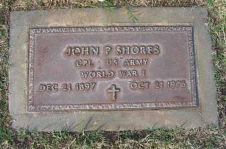 SHORES, JOHN P. - Gila County, Arizona | JOHN P. SHORES - Arizona Gravestone Photos