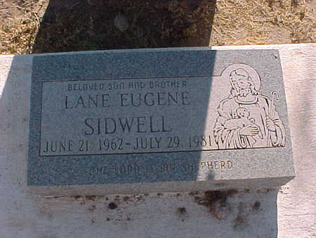 SIDWELL, LANE EUGENE - Gila County, Arizona | LANE EUGENE SIDWELL - Arizona Gravestone Photos