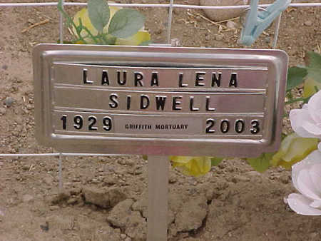 SIDWELL, LAURA LENA - Gila County, Arizona | LAURA LENA SIDWELL - Arizona Gravestone Photos