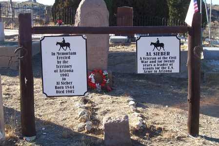SIEBER, AL - Gila County, Arizona | AL SIEBER - Arizona Gravestone Photos