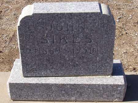 SIKES, JOHN - Gila County, Arizona | JOHN SIKES - Arizona Gravestone Photos