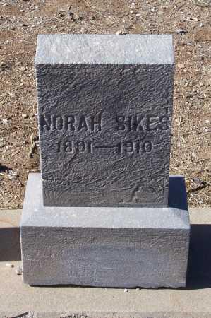 SIKES, NORAH - Gila County, Arizona   NORAH SIKES - Arizona Gravestone Photos