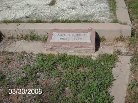 SIMKINS, KATE - Gila County, Arizona | KATE SIMKINS - Arizona Gravestone Photos