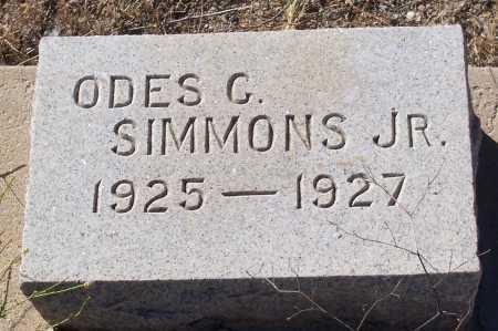 SIMMONS, ODES G. - Gila County, Arizona | ODES G. SIMMONS - Arizona Gravestone Photos